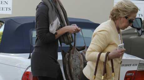 PHOTOS Katherine Heigl promène sa mère