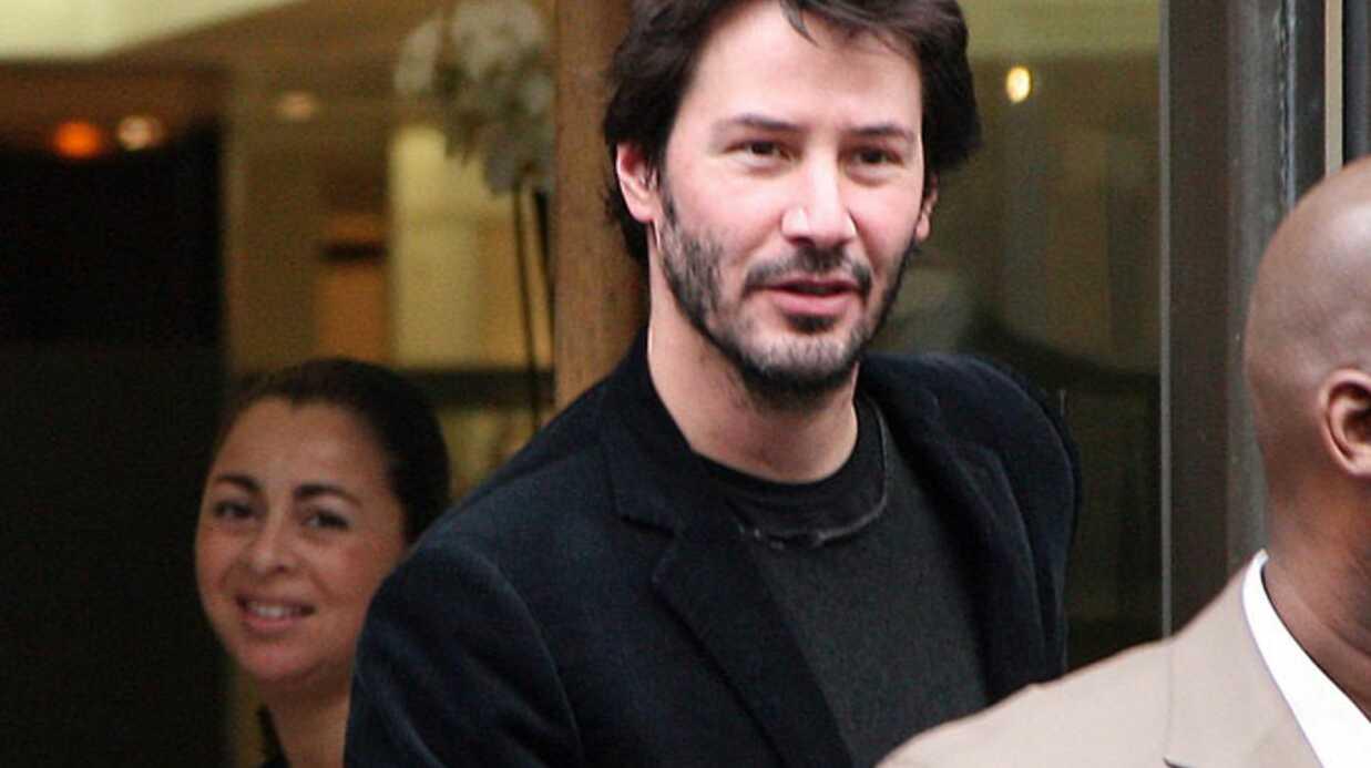Keanu Reeves en séance shopping à Paris