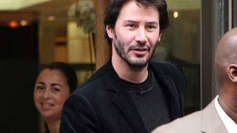 Keanu Reeves en séance shopping à Paris