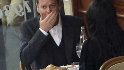 PHOTOS Kiefer Sutherland: escapade romantique à Paris