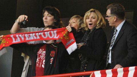 PHOTOS Kim Cattrall de Sex and the City fan de Liverpool