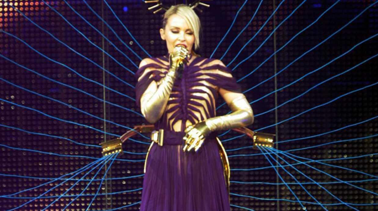 Kylie Minogue toujours sublime sur scène