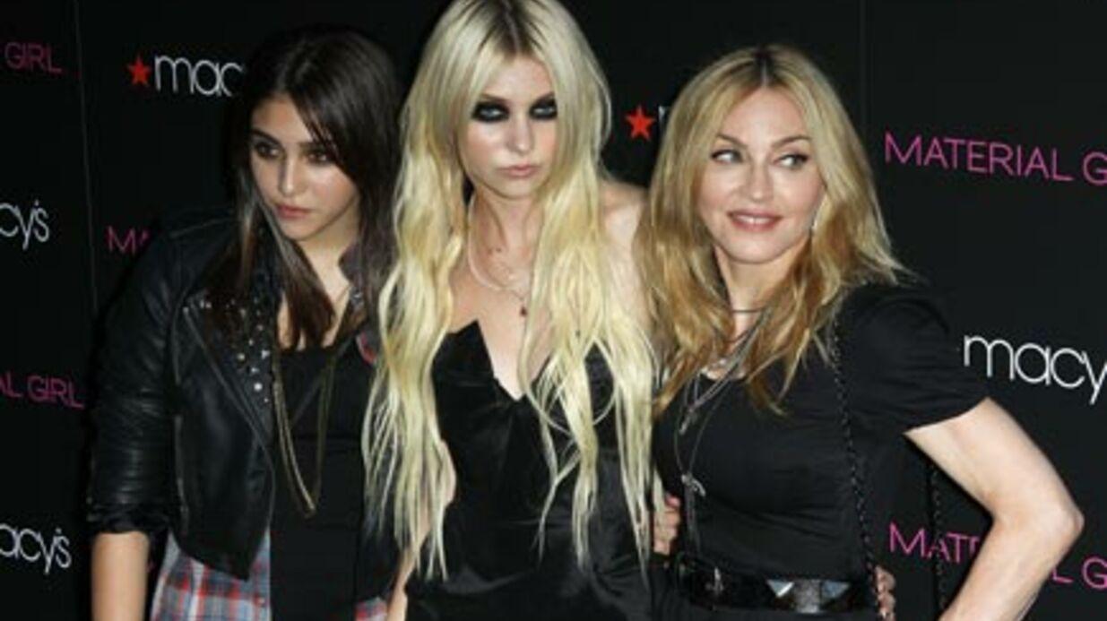 PHOTOS Madonna, Lourdes et Taylor Momsen pour Material Girl