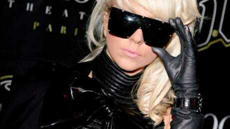 LOOK Lady GaGa en cuir au VIP Room de Paris