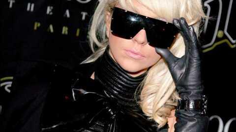 LOOK Lady GaGa en cuir au VIP Room de Paris
