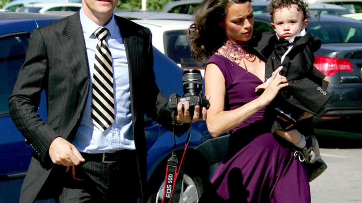 Photos le mariage de jean dujardin et alexandra lamy voici for Jean dujardin jules dujardin