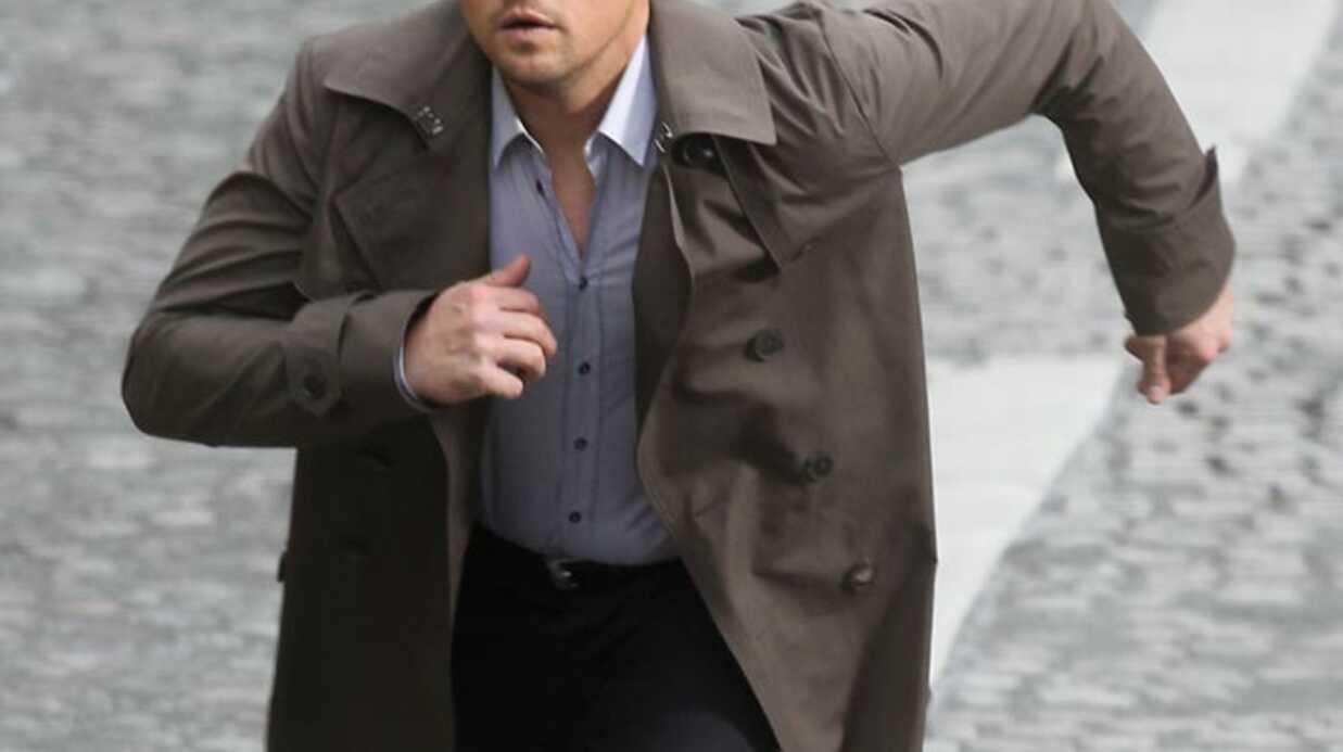 PHOTOS Leonardo DiCaprio tourne une pub à Paris