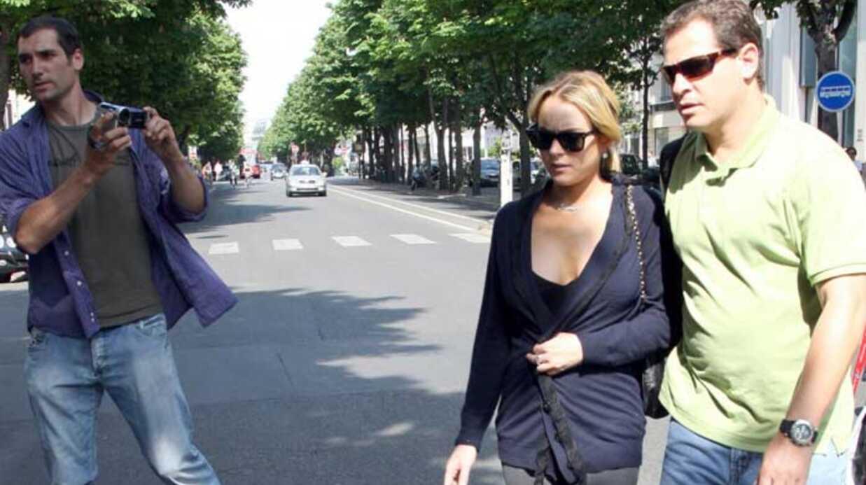 Lindsay Lohan A Paris