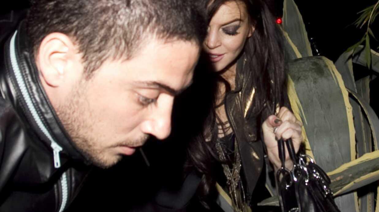 PHOTOS Lindsay Lohan chute dans les plantes lors d'une soirée