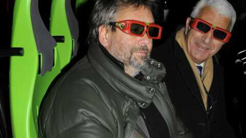 PHOTOS Luc Besson inaugure Arthur en 4D au Futuroscope