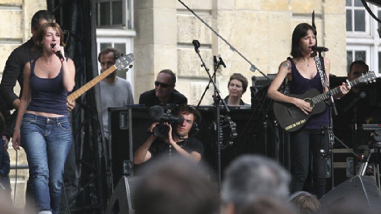 PHOTOS Nouvelle Star: Lussi sur scène avec Anaïs