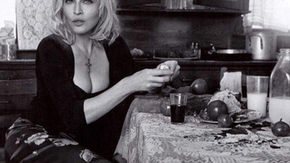 PHOTOS Madonna superbe pour Dolce & Gabbana