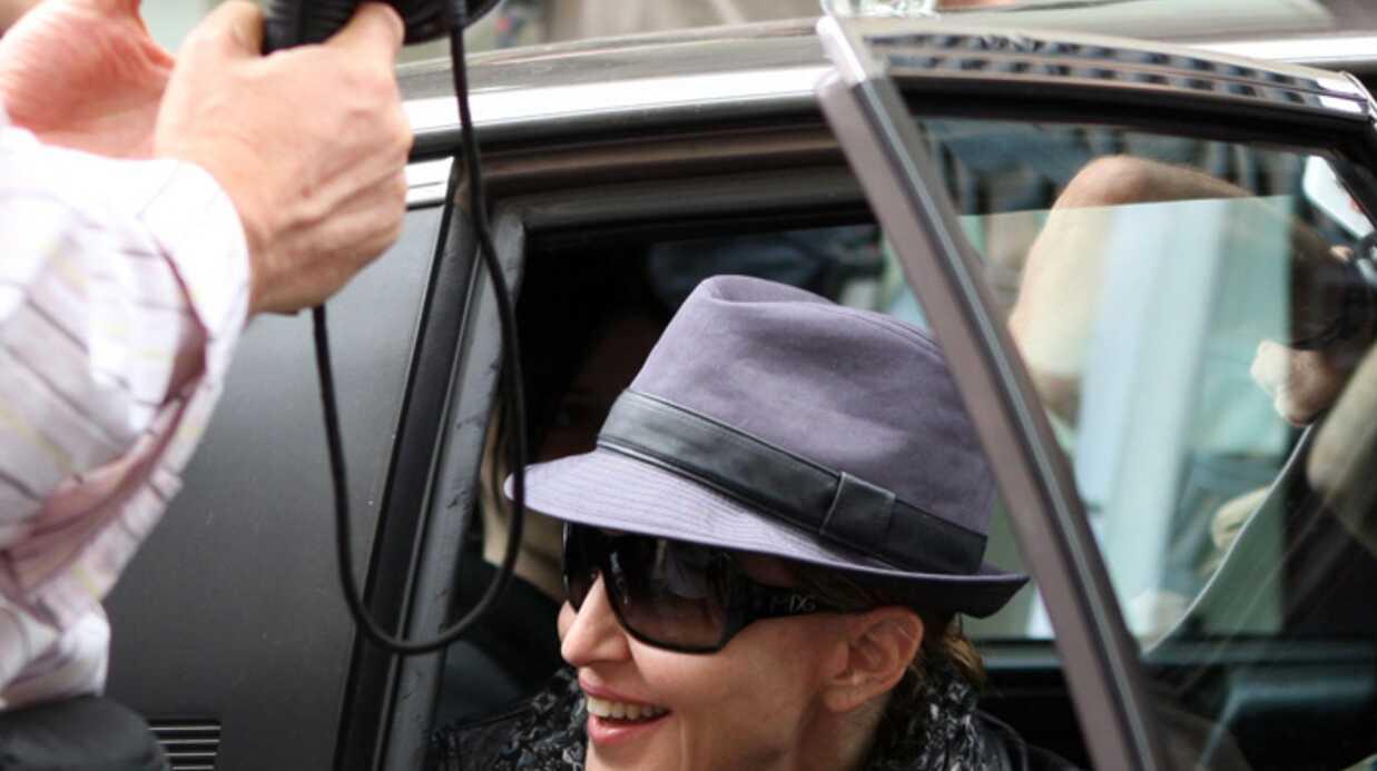 PHOTOS Madonna: pendant qu'elle bosse, ses enfants s'éclatent