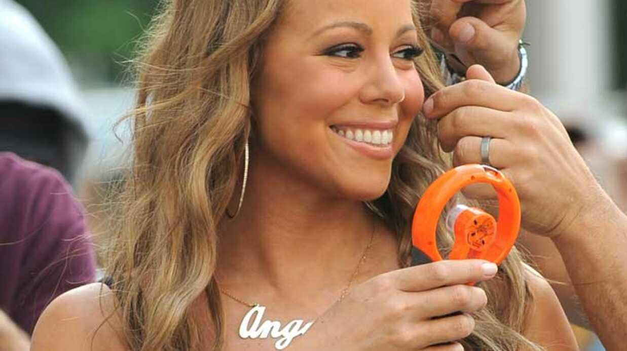 PHOTOS Mariah Carey sur le tournage du clip d'Obsessed