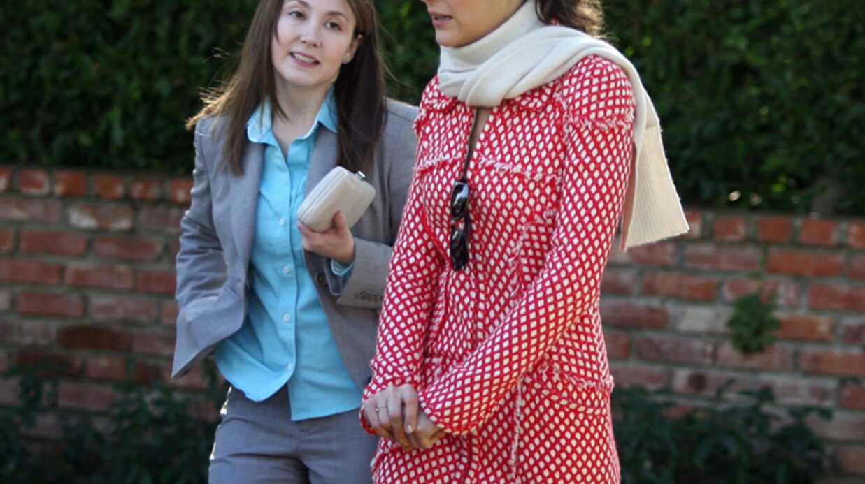 Marion Cotillard En tournage à Hollywood