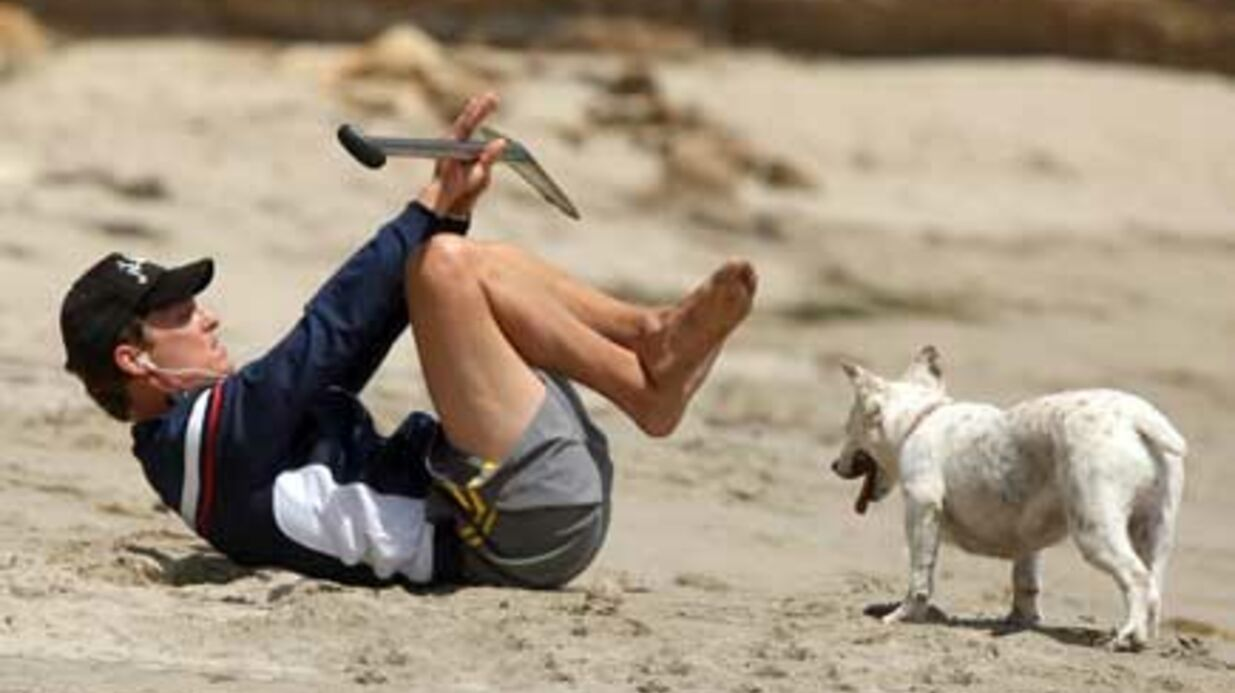 PHOTOS Matthew McConaughey sexy au sport