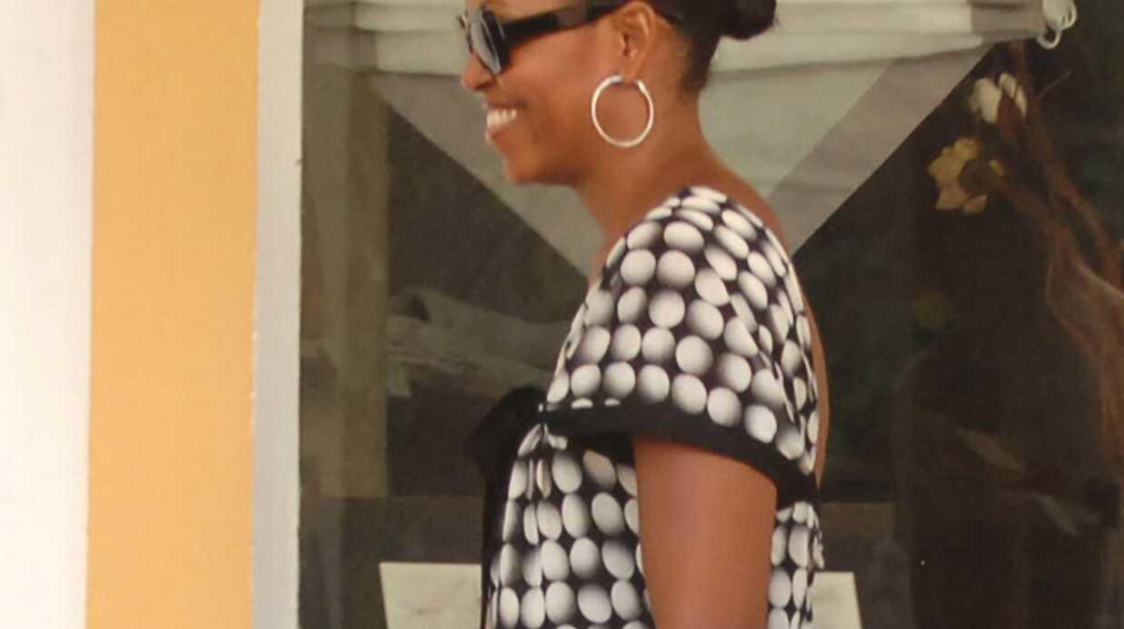 PHOTOS Michelle Obama et sa fille à Marbella