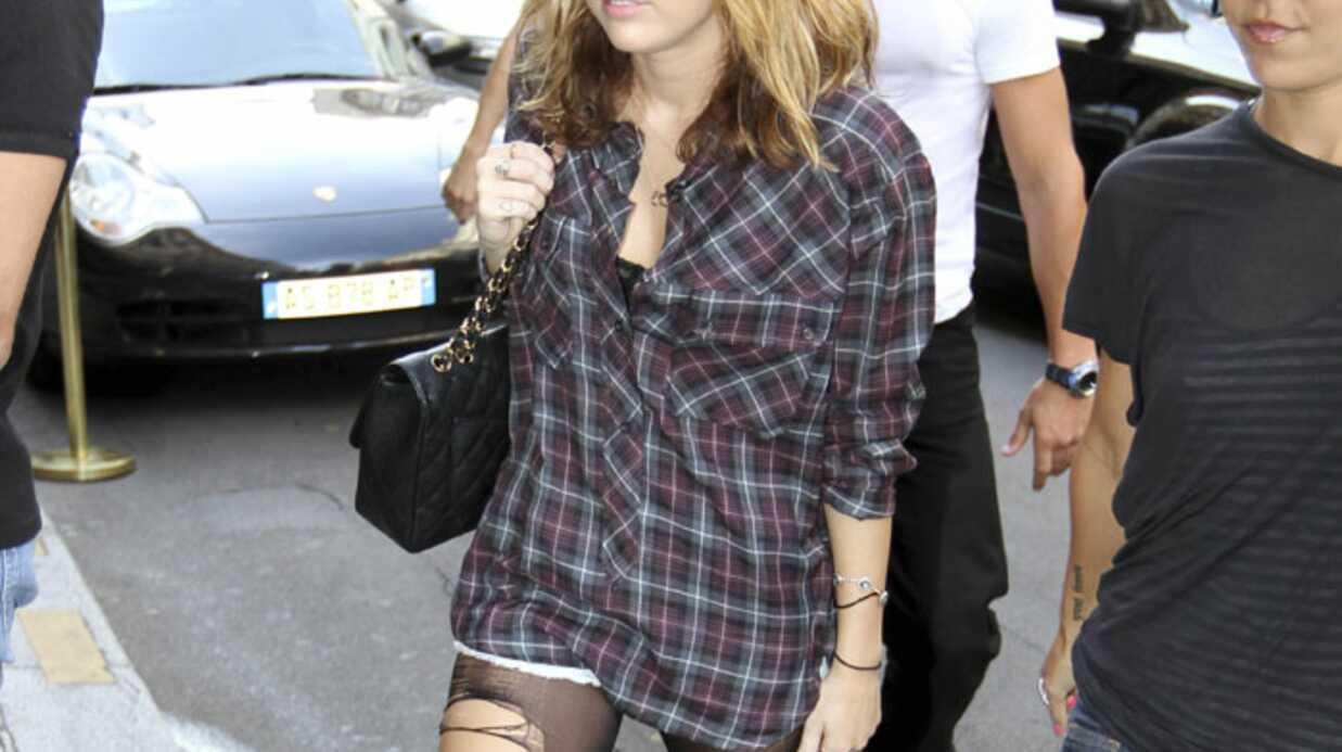 PHOTOS Miley Cyrus tourne LOL à Paris