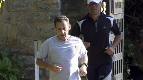 Nicolas Sarkozy n'abandonne pas le sport en vacances