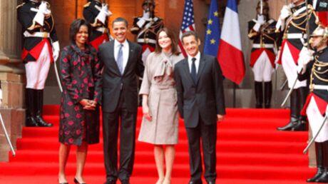 Carla Bruni-Sarkozy et Michelle Obama: duo de Premières Dames