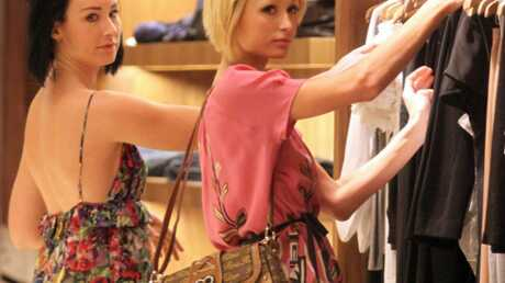 LOOK Paris Hilton en séance shopping avec sa styliste