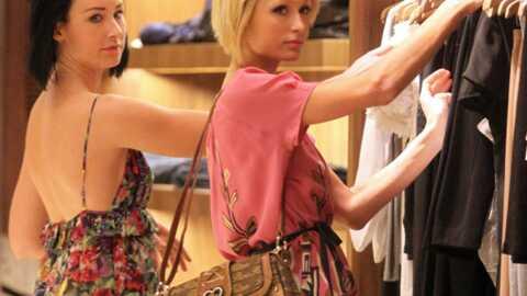 LOOK Paris Hilton en séance shopping avec sa styliste