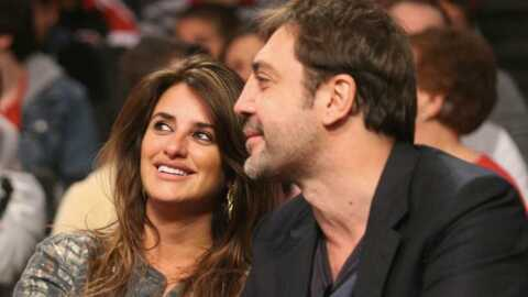 PHOTOS Penélope Cruz et Javier Bardem : bisou en plein match