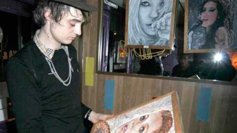 Pete Doherty Kate Moss: même pas en peinture!