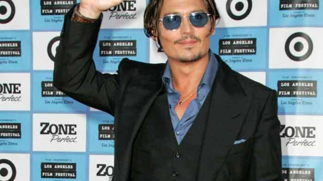 PHOTOS Johnny Depp et Marion Cotillard à la première de Public Ennemies