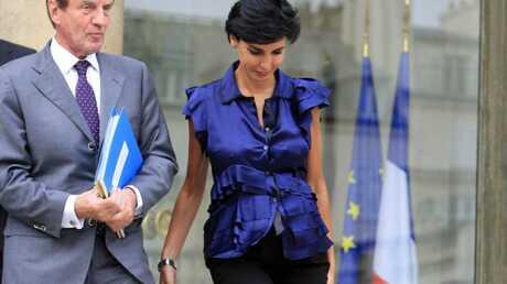Rachida Dati, enceinte et resplendissante au Conseil des Ministres
