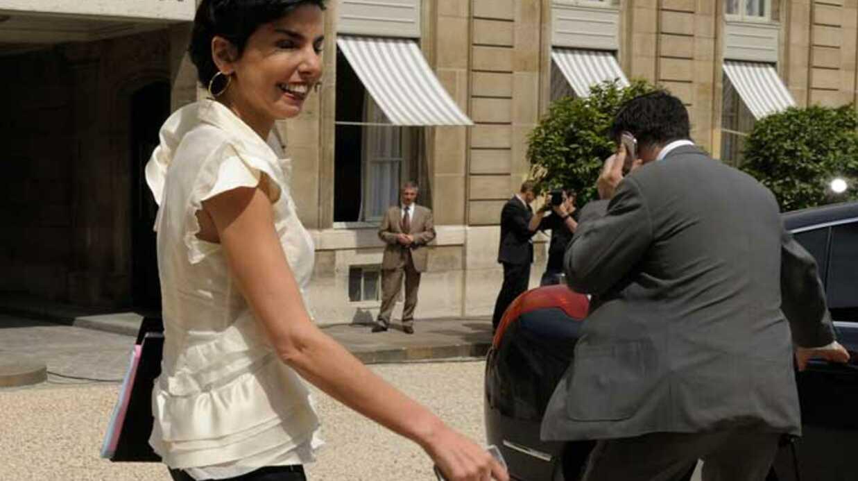 PHOTOS Rachida Dati sort de son dernier conseil des ministres