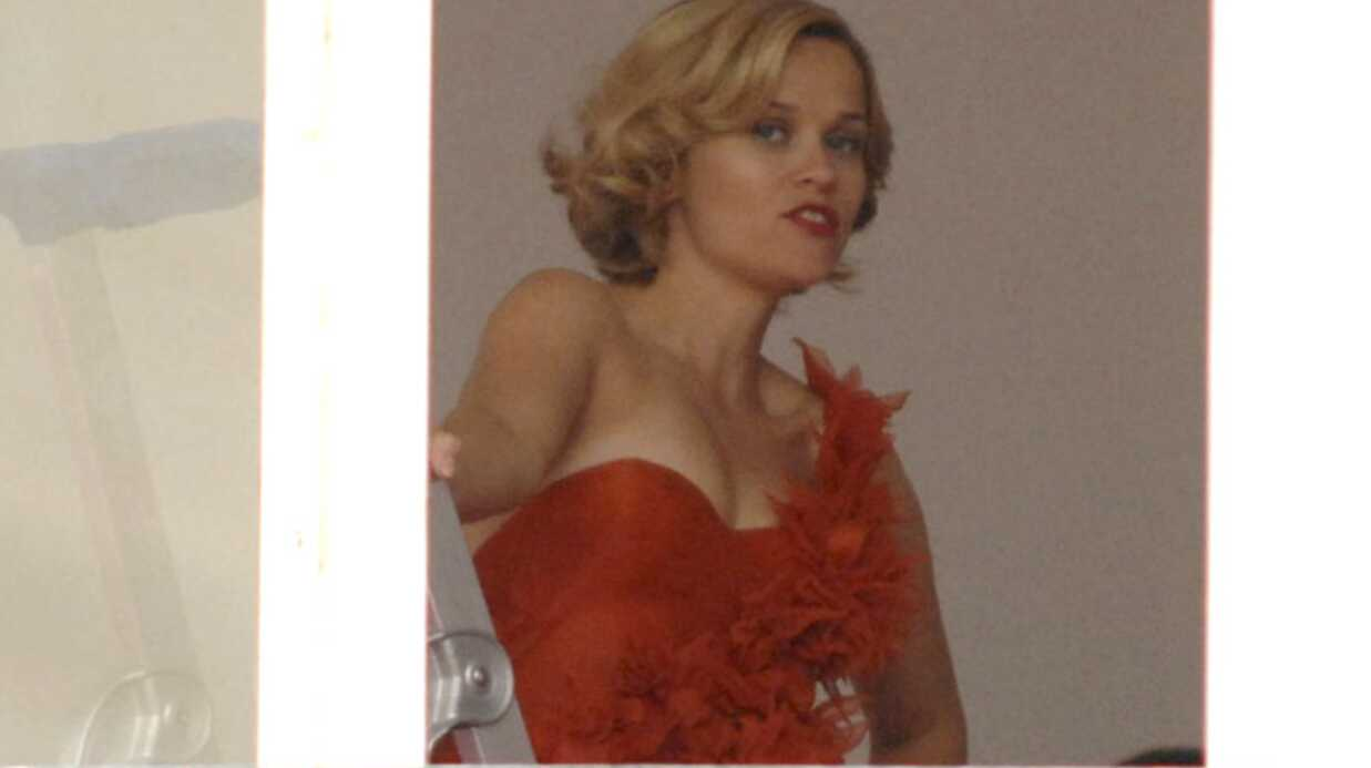 Reese Witherspoon en séance photo pour Nina Ricci
