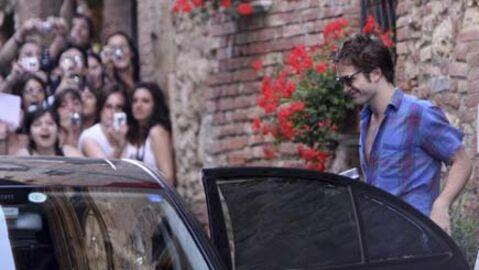 PHOTOS Les Italiennes sont folles de Robert Pattinson