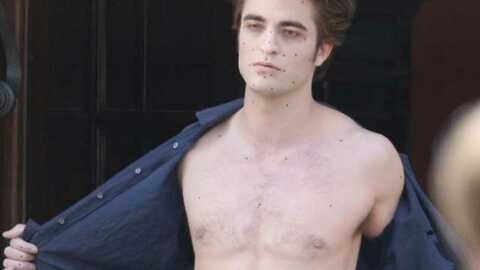 Twilight 2 : Robert Pattinson a triché
