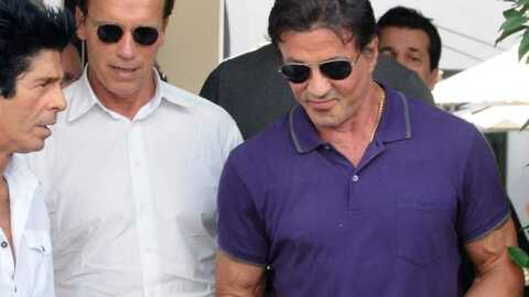 Arnold Schwarzenegger et Sylvester Stallone déjeunent ensemble