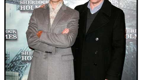 PHOTOS Sherlock Holmes: Jude Law sexy à Paris