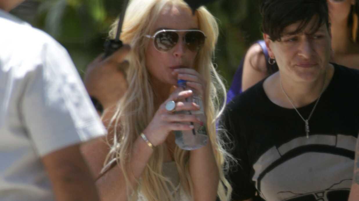 PHOTOS Lindsay Lohan: son shooting sexy en maillot de bain