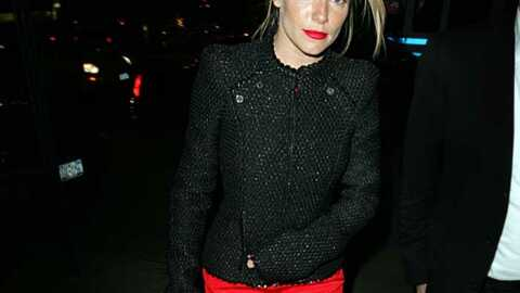 LOOK Quand Sienna Miller voit rouge