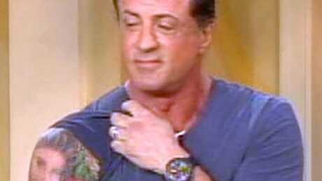Sylvester Stallone Bébé j't'ai dans la peau!