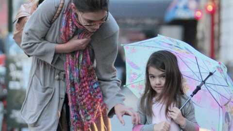 PHOTOS Suri Cruise est girly à souhait