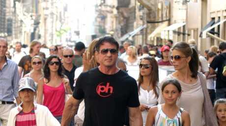 Sylvester Stallone en vacances en Italie