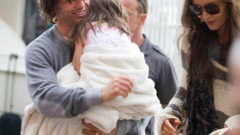 PHOTOS Tom Cruise très câlin avec Suri pour la fête des pères