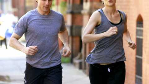 PHOTOS Tom Cruise et Katie Holmes: footing en duo