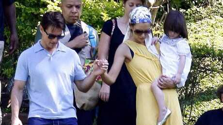 PHOTOS Tom Cruise, Katie Holmes et Suri au Brésil