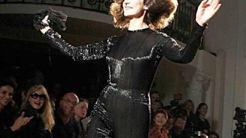PHOTOS Valérie Lemercier guest au défilé Jean-Paul Gaultier