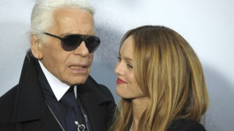 PHOTOS Vanessa Paradis complice de Karl Lagerfeld pour Chanel
