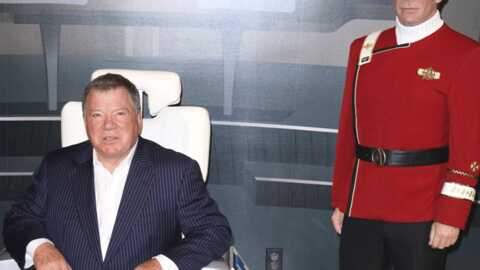 PHOTOS Star Trek : William Shatner chez Madame Tussauds