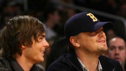 Zac Efron et Leonardo DiCaprio fans de basket