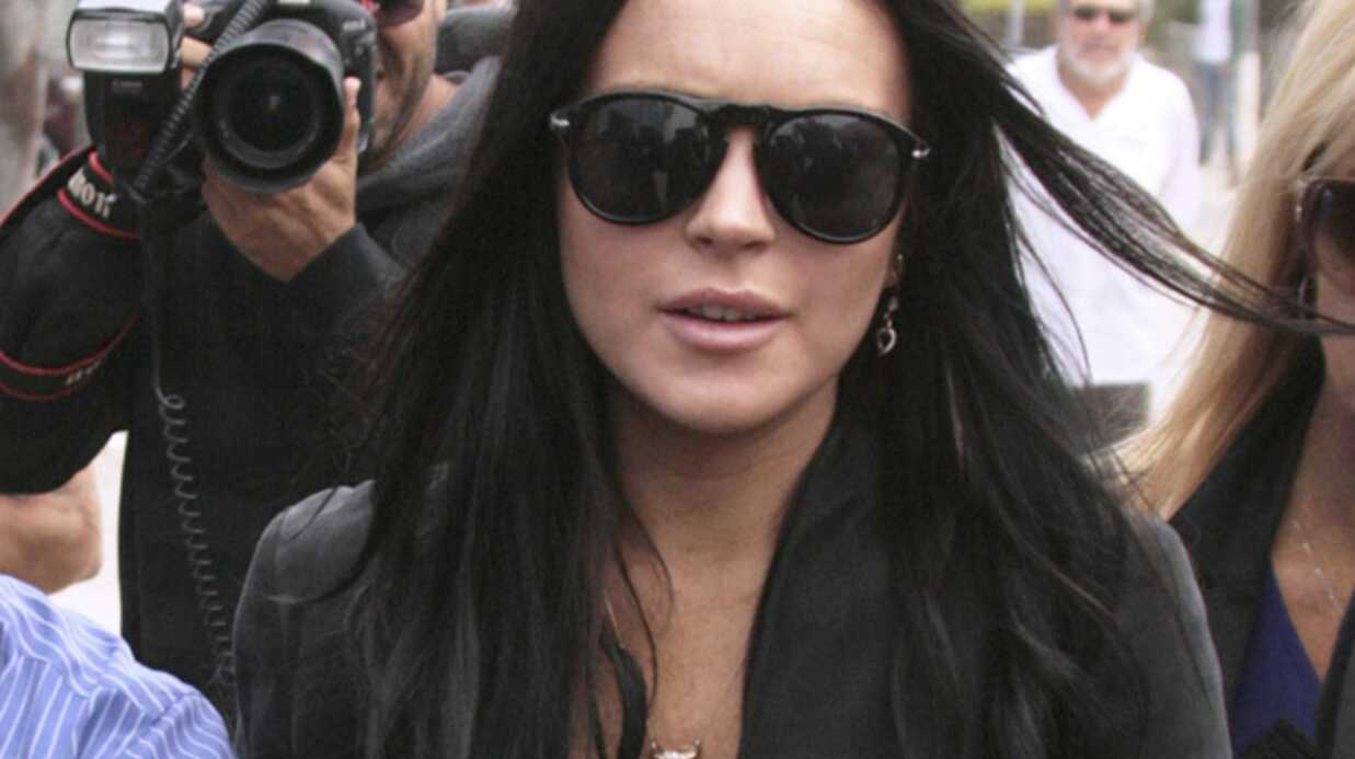 Lindsay Lohan risque la prison pour violation de sa probation