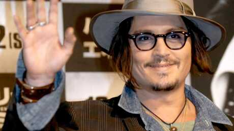 Johnny Depp fan de la Coupe du monde